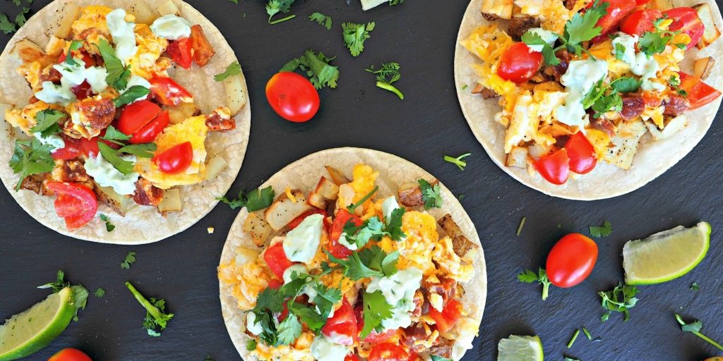 Breakfast Tacos Everyday Gourmet With Blakely Easy Breakfast Recipes