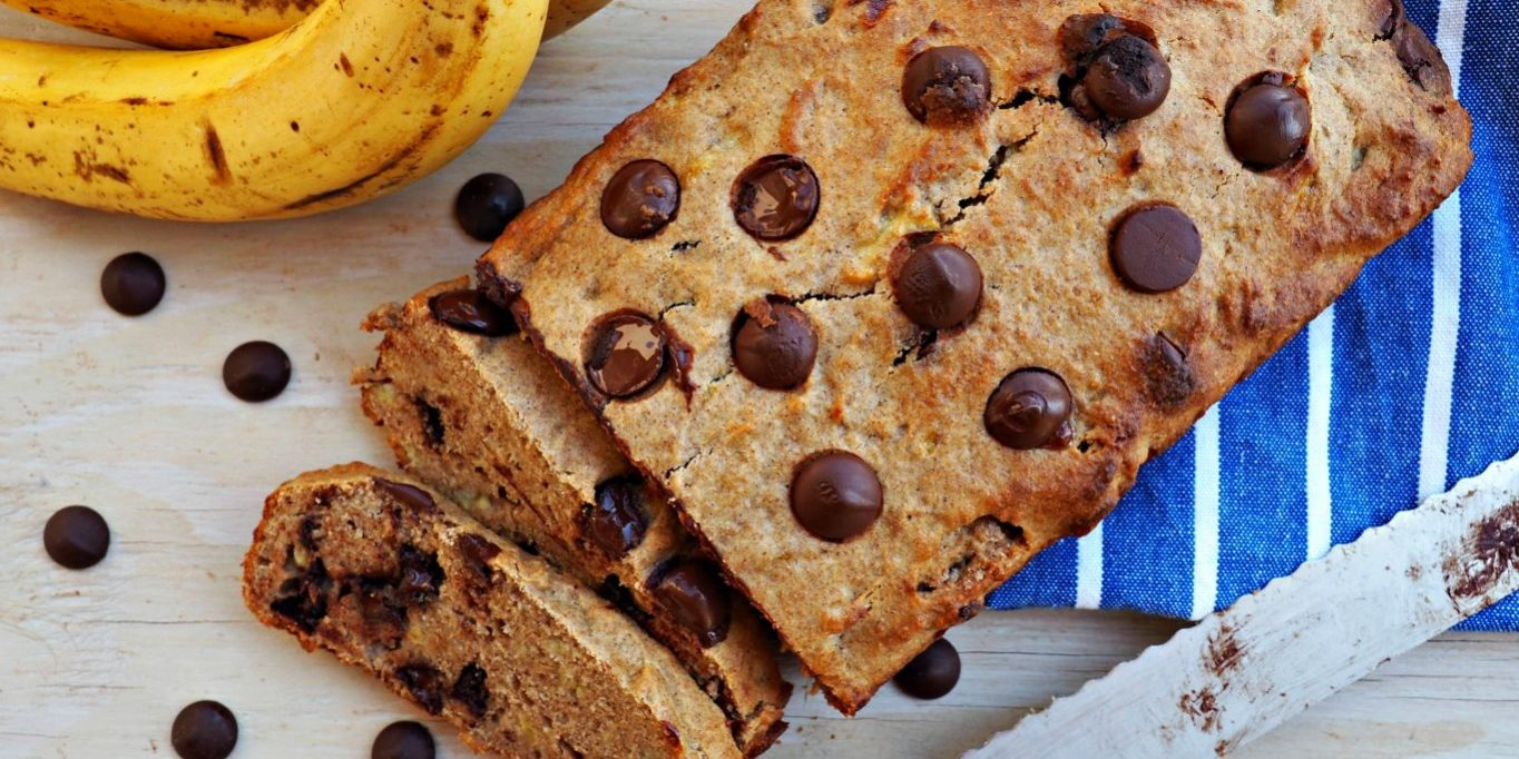 Healthy Banana Bread Everyday Gourmet With Blakely Breakfast Recipe