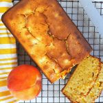 Quick bread, peach bread, how to make peach bread, breakfast, baking, summer breakfast ideas, easy breakfast recipes, peach recipes, peach breakfast recipes