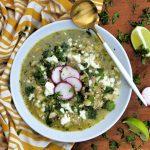 how to make posole, easy posole recipe, chicken posole recipe, posole verde recipe, posole with tomatillos recipe, mexican soup recipe, homemade posole, mexican soup reicpes, easy mexican soups, hominy, soup recipe with hominy, soup recipe with tomatillos, tomatillos recipes, easy recipes with tomatillos, soup recipes, easy soup recipe, homemade soup recipes, yummy soup recipes for winter, spicy soup recipes, latino soup recipes, soups, how to make soups,