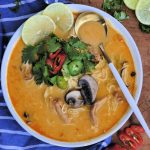 soup recipes, easy soup recipes, free online soup recipes, thai style soup recipes, thai style chicken soup, thai style soup recipe, quick soup recipes, quick soups, 30 minute soup recipes, thai style coconut soup, chicken noodle soup recipe, how to make thai style soups, easy thai style soup recipes, easy soup recipes made in 30 minutes, soup recipes with chili paste, red chili paste recipes,