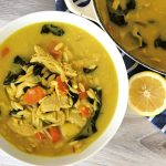 chicken orzo soup recipe, chicken soup, chicken soup recipe, homemade chicken soup, chicken noodle soup recipe, homemade chicken noodle soup recipe, soup recipes with turmeric, soup recipe with ginger, soup recipe with artichokes, spinach and artichoke soup, homemade soups, immune boosting soups, immune boosting soup recipes, dinner recipes, one pot dinner recipe,