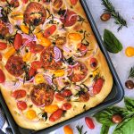 how to make focaccia, easy focaccia recipe, homemade focaccia with tomatoes, tomato focaccia recipe, easy focaccia recipe, best ever focaccia recipe, easy focaccia, homemade bread recipe, bread recipe, easy bread recipe, how to make bread, baking recipes, easy baking recipes,