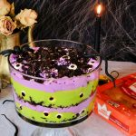 halloween desserts, spooky halloween desserts, halloween trifle, halloween trifle idea, spooky desserts for halloween, themed desserts for halloween, dessert recipe using kings Hawaiian rolls, kings Hawaiian rolls, kings Hawaiian rolls for dessert, easy dessert recipes for halloween, creepy desserts for halloween, creepy dessert ideas for halloween, halloween creepy desserts, kings Hawaiian roll dessert ideas