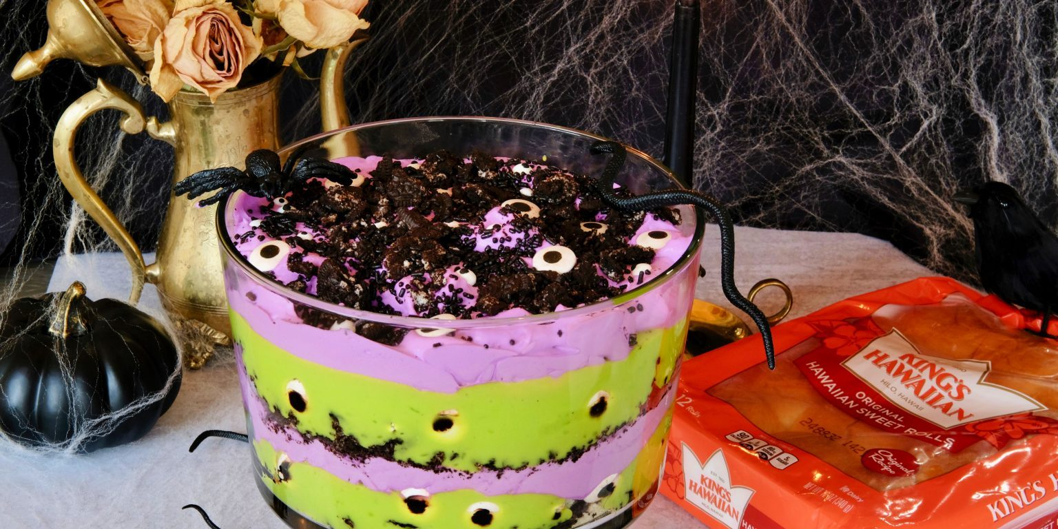 Monster Mash Trife Everyday Gourmet With Blakely Spooky Dessert