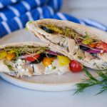 greek style chicken recipe, greek style chicken, chicken pita recipe, chicken pita sandwich recipe, easy lunch recipe, sandwich recipes for lunch, easy sandwich recipes, pita recipes for lunch, quick pita recipes, homemade tzatziki, chicken pita sandwich recipe,healthy lunch recipes