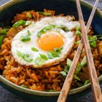 kimchi recipes, fried rice, easy kimchi fried rice recipe, easy kimchi fried rice, korean fried rice, dinner recipes, easy korean dinner recipes, korean recipes easy, fried rice with kimchi, fried rice with egg recipe