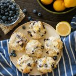 lemon blueberry cookies, blueberry cookies, lemon cookies, springtime cookies, easy spring inspired cookies, soft cookies, cream cheese cookies, soft cream cheese cookies, cookies with blueberries, blueberry desserts, easy blueberry dessert recieps