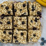 blueberry baked oatmeal, banana baked oatmeal, coconut baked oatmeal, easy baked oatmeal, healthy baked oatmeal, quick baked oatmeal, make ahead breakfast recipe, make ahead breakfast, breakfast on the go recipe,