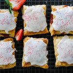 strawberry pop tarts, how to make homemade pop tarts, easy pop tarts recipe, homemade strawberry pop tars, strawberry breakfast recipe, puff pastry breakfast recipes, puff pastry pop tarts