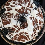 chocolate cake recipe, best ever chocolate cake, halloween recipes, halloween dessert recipes, easy halloween dessert recipe, halloween dessert ideas, halloween party dessert recipes, spider web cake, how to make an edible spider web, marshmallow spider web