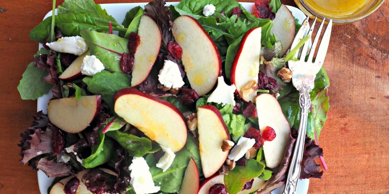 Apple Walnut Salad Everyday Gourmet With Blakely Easy Salad Recipes