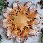 how to make a star bread, star bread, christmas star bread, holiday Christmas bread, christmas baking, christmas morning baking recipes, christmas recipes, christmas baking recipes, baking recipes for holidays, holiday baking recipes, bread recipes, holiday bread recipes, holiday recipes, holiday breakfast recipes, cardamom recipes, cardamom bread recipe, cardamom rolls, free online bread recipes