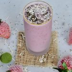 smoothie recipe, easy smoothie recipes, quick smoothie recipes, matcha smoothies, easy matcha smoothies, breakfast, breakfast recipes, easy breakfast recipes, quick breakfast recipes, strawberry smoothie recipe, strawberry smoothies, coconut smoothie, coconut smoothie recipe, easy smoothie recipes for breakfast