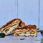 bbq sandwich, sandwich recipe with bbq sauce, turkey sandwich recipe, easy turkey sandwich, turkey sandwich ideas, hot pressed sandwich recipe, easy pressed sandwich recipe, panini recipes, panini ideas, easy panini recipes, turkey pickled jalapeno sandwich recipe, lunch recipe, easy lunch recipes, quick lunch recipes,
