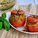 stuffed tomatoes, how to make stuffed tomatoes, easy stuffed tomatoes recipe, healthy stuffed tomatoes recipe, side dish recipes, easy side dish recipes, side dish ideas, healthy sides ideas, healthy side dish recipes, vegetarian side dish recipes, healthy vegetarian recipes, quinoa, easy quinoa recipe, quick quinoa recipe, quinoa side dish recipes, healthy quinoa recipes, free online side dish recipes