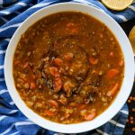 soup, soup recipes, easy soup recipe, homemade soup recipes, healthy soup recipe, vegetarian soup recipes, vegan soup recipes, lentil soups, easy soup for winter,