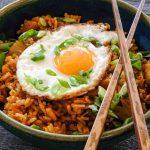 kimchi recipes, fried rice, easy kimchi fried rice recipe, easy kimchi fried rice, korean fried rice, dinner recipes, easy korean dinner recipes, korean recipes easy, fried rice with kimchi, fried rice with egg recipe