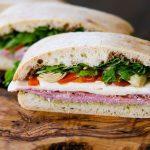 sandwich recipe, easy sandwich recipe, antipasta sandwich recipe, antipasta recipe, how to make antipasta, salami sandwich, prosciutto sandwich,