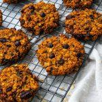 healthy breakfast pumpkin cooking, healthy cookies, breakfast cookies, healthy breakfast cookies for fall, pumpkin cookies, healthy pumpkin cookies, oatmeal breakfast cookies, pumpkin spice cookies
